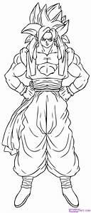 Draw Gogeta Super Saiyan 4, Step by Step, Drawing Sheets ...