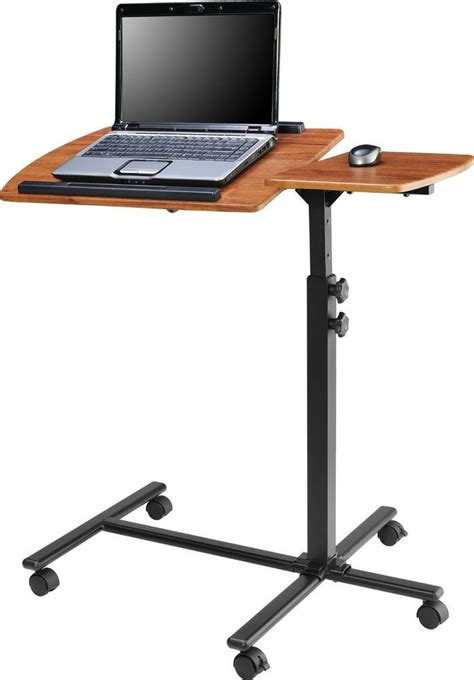 portable standing laptop desk laptop adjustable cart small portable computer table home