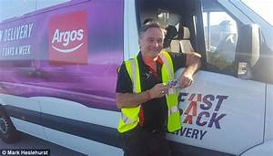 Argos delivery driver rewarded with just £10 gift card ...