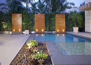59 idees pour amenagement de votre piscine de jardin With amenagement exterieur jardin moderne 0 design du jardin moderne reussi 35 alternatives du classique
