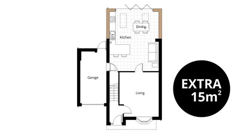 kitchen extension floor plans kitchen extension ben williams home design and 4746
