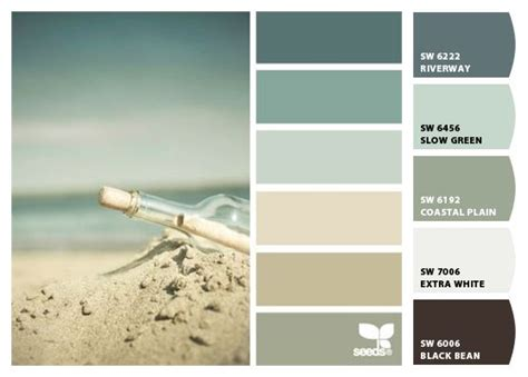 paint colors  sherwin williams sw riverway sw slow