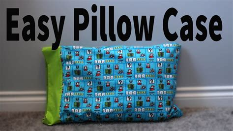 Easy French Seam Pillow Case 🛌