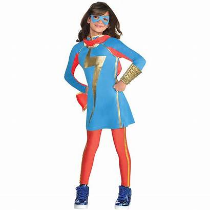 Marvel Ms Costume Rising Costumes Party Partycity