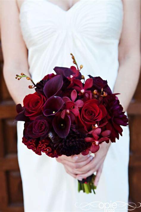 plum red wedding images  pinterest flower