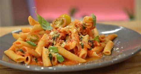 recette pates  la sauce tomate en video