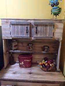 kitchen spice storage ideas kitchen hutch made from pallets