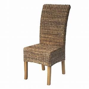 chaise en abaca naturel naturel samourai chaises With chaise de salle a manger en rotin pour deco cuisine