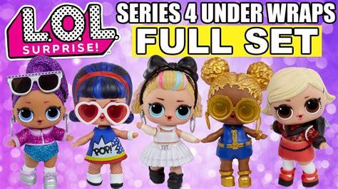 lol surprise series   wraps full set lol eye