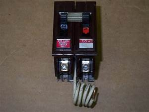 Wadsworth 1 Pole 20 Amp Neutral Safety Switch Circuit Breaker