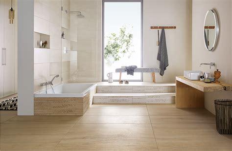 Badezimmer Ideen Mit Holzfliesen by Badezimmer Modern Badezimmer Holzfliesen Auf Fliesen In