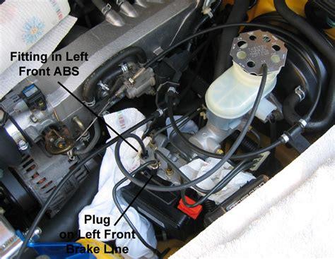 brake master cylinder bleeding