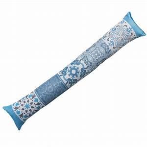 Coussin Bas De Porte : coussin bas de porte agadir bleu d co textile eminza ~ Melissatoandfro.com Idées de Décoration