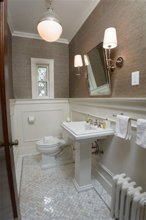 tenafly nj powder room transitional powder room