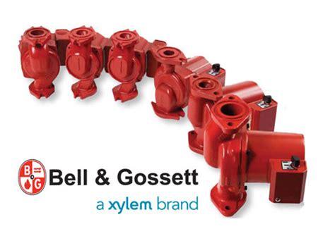 hydronic heating supplies bell gosset pumps