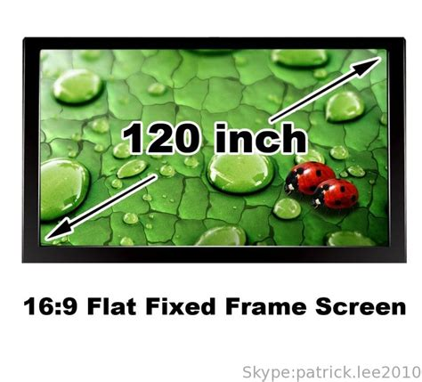 60 best flat diy images best quality 120 inch 16 9 home cinema theater projection
