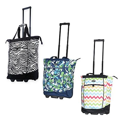 olympia usa fashionista   rolling shopping tote
