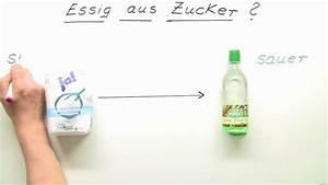 Kalk Entfernen Essig : essig aus zucker 1 chemie online lernen ~ Watch28wear.com Haus und Dekorationen