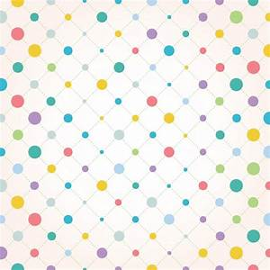 Coloured dots background design Vector | Free Download
