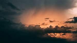 Clouds, Cloudy, Sky, Night, Dark, 4k, Sky, Cloudy, Clouds