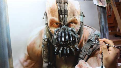 painting bane batman the rises rafa