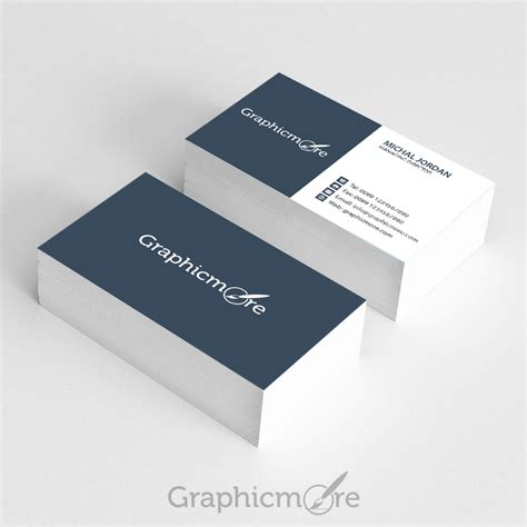 graphicmore business card template  psd file