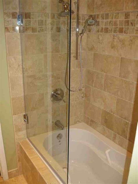 bathtub glass shower doors decor ideas