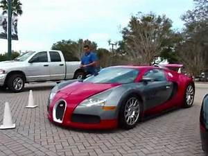 Chris Brown's Bugatti Veyron spotted at NBA playoffs - YouTube