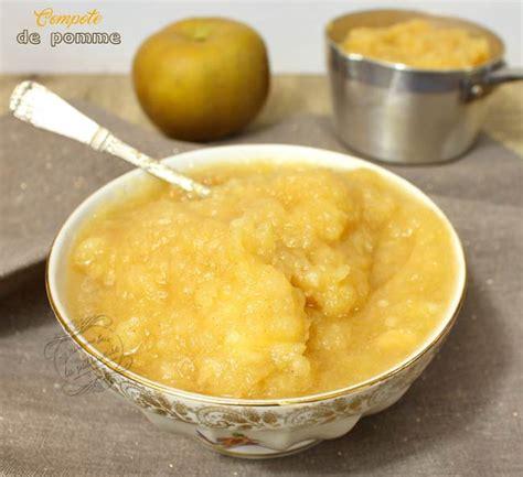 recette a base de compote de pomme