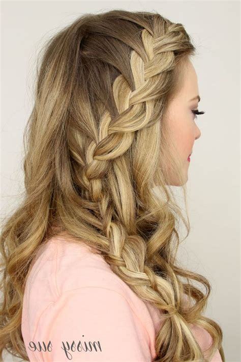 Cute Down Homecoming Hairstyles Hairstyles