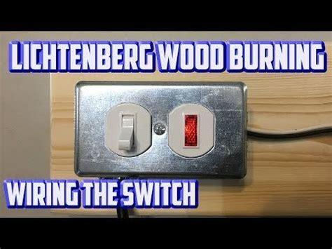 making  lichtenberg wood burning machine   microwave
