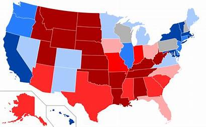 Map State Partisan Voting Pvi Republican Democratic