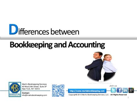 Get To Know Differences Between An Accountant And A Bookkeeper
