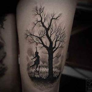 Baum Tattoo Bedeutung : baum tattoos part 2 tattoo spirit ~ Frokenaadalensverden.com Haus und Dekorationen