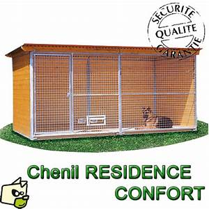 Chenil Extérieur Pour Chien : construire en kit un chenil en bois ~ Melissatoandfro.com Idées de Décoration