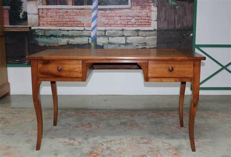 table bureau louis xv en merisier xixe antiquites lecomte