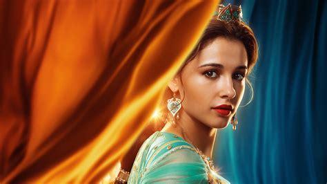 Naomi Scott as Princess Jasmine in Aladdin 2019 5K ...