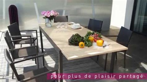 chaise jardin carrefour table chaises riverside le mobilier de jardin by