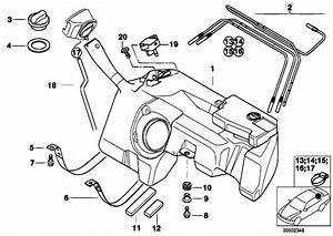 Original Parts For Z3 Z3 1 8 M43 Roadster    Fuel Supply   Plastic Fuel Tank