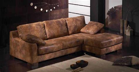canape d angle cuir vieilli canapé idées de décoration