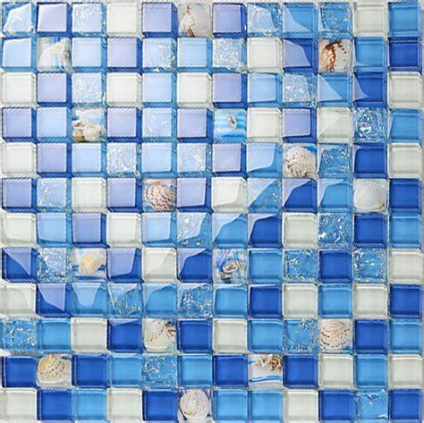 Crystal Resin Conch Tile Kitchen Backsplash Bathroom
