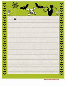 writing paper borders for kids black and white