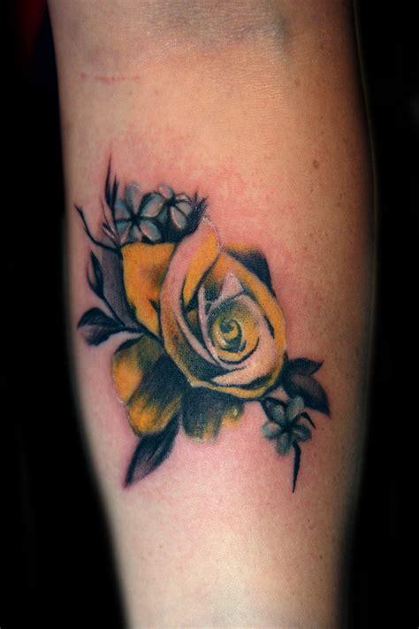 vintage yellow rose tattoo  tattoo  tattoo boogaloo