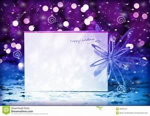 Christmas greeting card stock photo. Image of beautiful ...