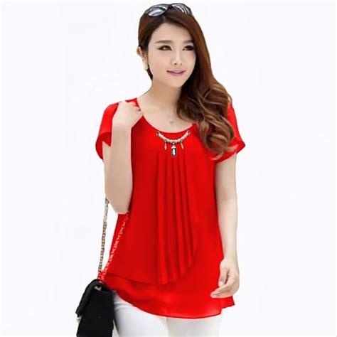 jual atasan baju pakaian blouse model korea wanita korean