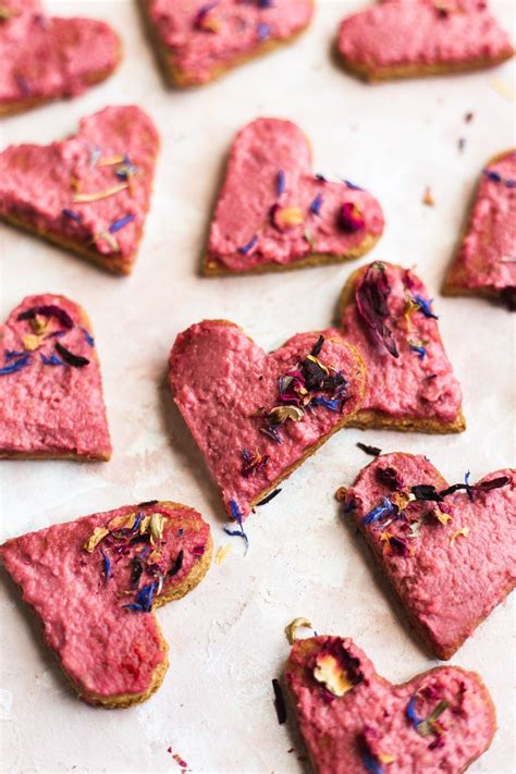 Add eggs, coconut oil (or butter) and vanilla; Healthy Oatmeal Flour Sugar Cookies with Beet Cashew Frosting (Gluten-Free) - NattEats   Recipe ...