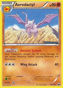 Aerodactyl -- Dark Explorers Pokemon Card Review ...