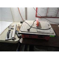 husky model thd750l wet tile saw guides