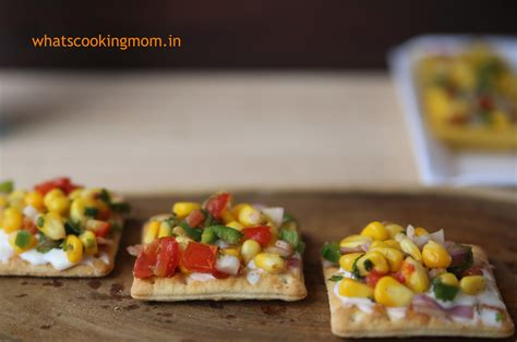 easy canapes to in advance corn canapes whats cooking