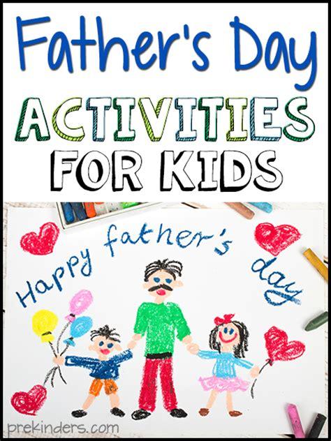 fathers day activities  kids prekinders